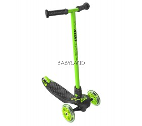 Yvolution Neon Glider by Vybe LED Kids Scooter (Green)