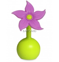 Haakaa Silicone Flower Stopper - Purple *BUY 2 OFF 20%*