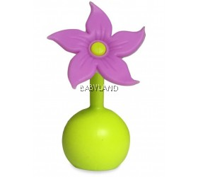 Haakaa Silicone Flower Stopper - Purple