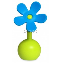 Haakaa Silicone Flower Stopper- Blue