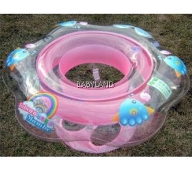 Mambo Baby Underarm Ring Float with Seat (Pink)