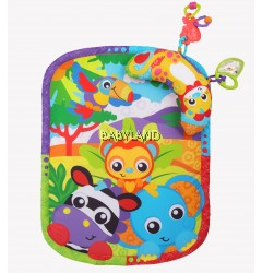 Playgro Zoo Play Time Tummy Time Mat & Pillow (0M+)