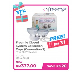 Freemie Closed System Collection Cups (Generation 2)