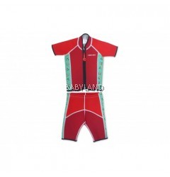Cheekaaboo Summer Paradise Twinwets Suit Red/Toucan 6-8Y (XL)