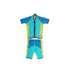 Cheekaaboo Summer Paradise Twinwets Suit - Light Blue/Camper Van 6-8Y (XL)