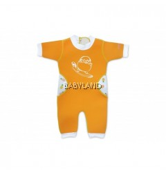 Cheekaaboo Summer Paradise Warmiebabes Suit - Orange/Pineapple 3-4Y (M)