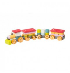 Cubika Wooden Toy Train LP-1 (18M+)