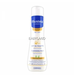 Mustela Cleansing Milk (200ml/6.76oz)