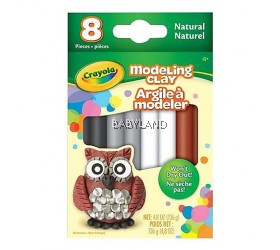 Crayola® Modeling Clay Natural (8pcs)