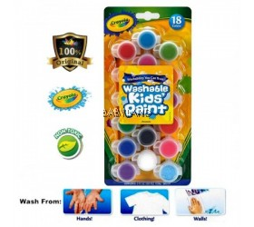Crayola Washable Kids Paint (18 colors)