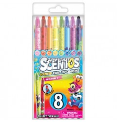 Scentos Scented Twist Up Crayons (8 colours)