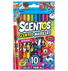 Scentos Scented Fine Line Markers (10 colours)