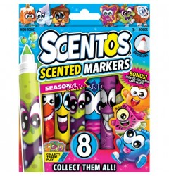 Scentos Scented Broad Line Markers (8 colours)