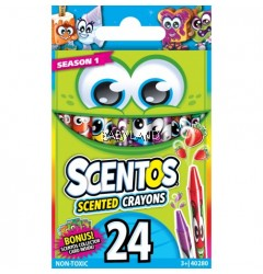 Scentos Scented Crayons (24 colours)