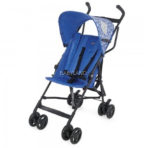 Chicco Snappy Stroller (Blue Whales)