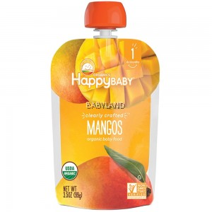 Happy Baby Organics Clearly Crafted Mangos 4M+ (99g)