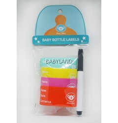 Baby Koala Baby Bottle Labels (4pcs)