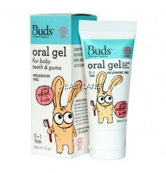 Buds Oral Gel for Baby Teeth & Gums 0-1Y (30ml)
