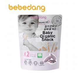 Bebedang Baby Organic Snack - RICE BUD & PURPLE SWEET POTATO 6M+ (30g)