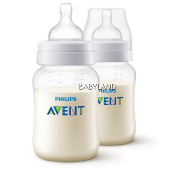 Philips Avent Classic+ Feeding Bottle - 1M+ 260ml/9oz (2 bottles)