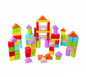 Hape Wonderful Beech Blocks - 101 pcs (12M+)