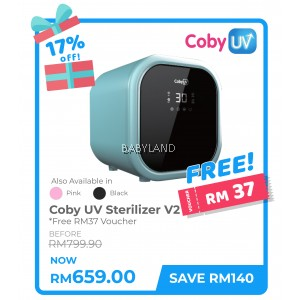 Coby UV Waterless Sterilizer V2 - BLACK