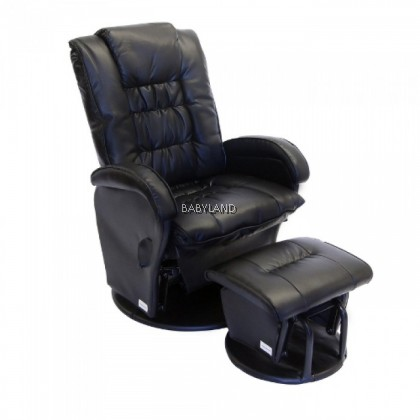 Babyhood Manhattan Glider Chair - BLACK