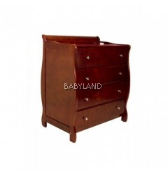 Babyhood Amani Chest & Drawers - WALNUT