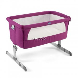 Chicco Next2Me Crib - FUCHSIA