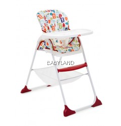 Joie Mimzy Snacker High Chair - BLOCK ANIMALS