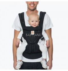 Ergobaby Omni 360 Baby Carrier All-In-One Cool Air Mesh - ONYX BLACK