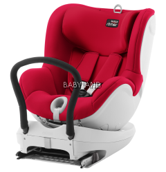 Britax Dualfix Convertible Carseat Spin 360 Isofix - FLAME RED