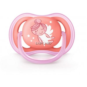 Philips Avent Ultra Air Pacifiers - PINK 6-18M (2pcs)