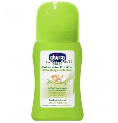 Chicco Anti-Mosquito Refreshing & Protective Roll On 0M+ (60ml)