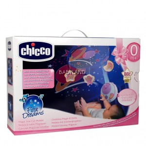 Chicco Magic Star Cot Mobile 0M+ (Pink)