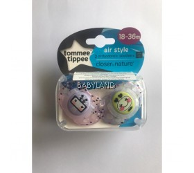 Tommee Tippee Closer to Nature Air Style 18-36m (2pcs)