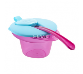 Tommee Tippee Cool and Mash Weaning Bowl 4m+