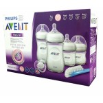 Philip Avent Natural Newborn Starter Set (6pcs) *FREE PHILIP AVENT SOOTHER 0-6M (2PCS)*