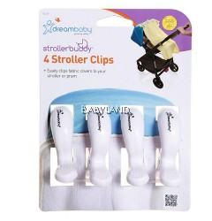 Dreambaby 4 Stroller Clips