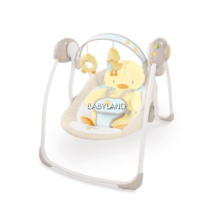 Ingenuity Soothe 'N Delight Portable Swing (Quacks And Cuddles)