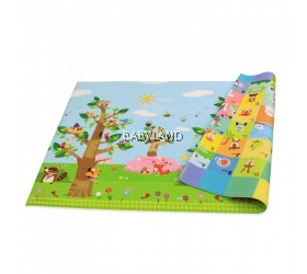 Baby Care Play Mat (Birds on the trees)