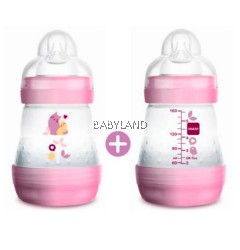 Mam Easy Start Baby Bottle Anti-Colic 160ml 0m+