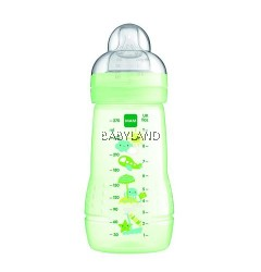 Mam Easy Start Baby Bottle Anti-Colic 260ml 2m+ (Green)