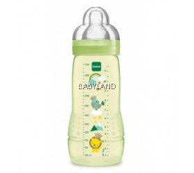 Mam Easy Active Baby Bottle 330ml 4m+ (Green)