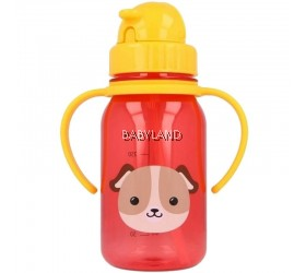 Snapkis My First Straw Water Bottle Dog (350ml)