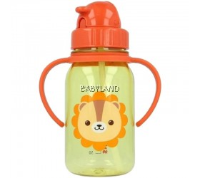 Snapkis My First Straw Water Bottle Lion (350ml)