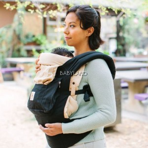 Ergobaby 4 Position Bundle of Joy (Black/Camel)