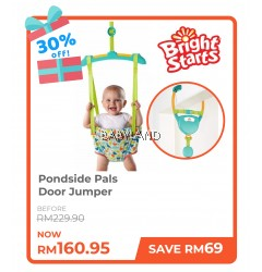 Bright Starts Pondside Pals Door Jumper