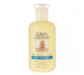 Gaia Natural Baby Shampoo (250ml)