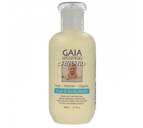 Gaia Natural Baby Hair & Body Wash (200ml)